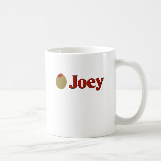 Olive (I Love ) Joey Basic White Mug