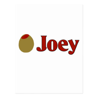 Olive (I Love ) Joey Postcard