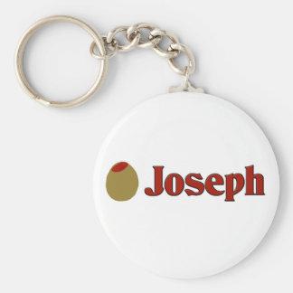 Olive (I Love) Joseph Key Chains