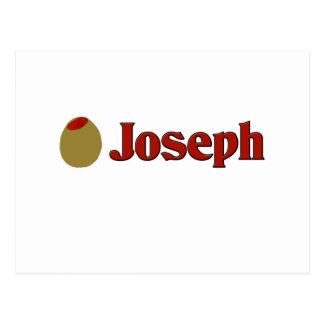 Olive (I Love) Joseph Postcard