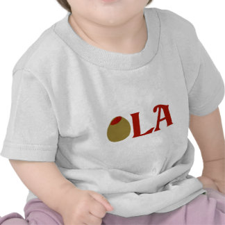OLIVE (I Love) LA Tshirts