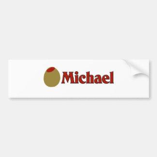 Olive (I Love) Michael Bumper Stickers