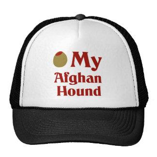 Olive (I Love) My Afghan Hound Trucker Hats