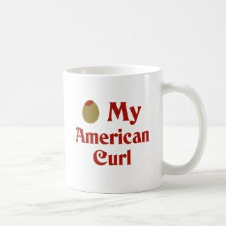 Olive (I Love) My American Curl Mugs