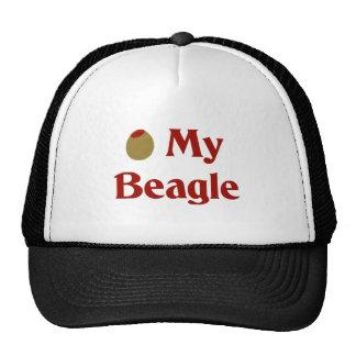 Olive (I Love) My Beagle Trucker Hat