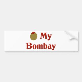 Olive (I Love) My Bombay Bumper Stickers