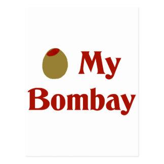 Olive (I Love) My Bombay Postcard
