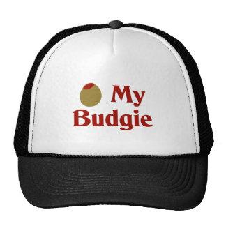 Olive (I Love) My Budgie Mesh Hat