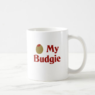 Olive (I Love) My Budgie Coffee Mug