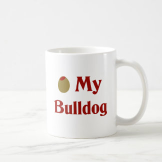 Olive (I Love) My Bulldog Coffee Mugs