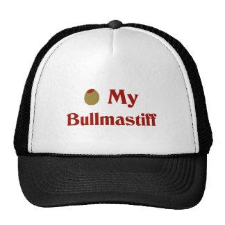 Olive (I Love) My Bullmastiff Hat