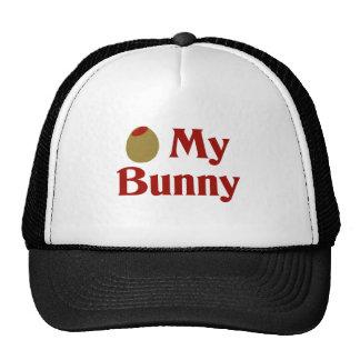 Olive (I Love) My Bunny Trucker Hats