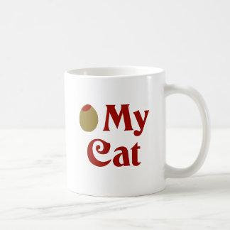 Olive (I Love) My Cat Mugs