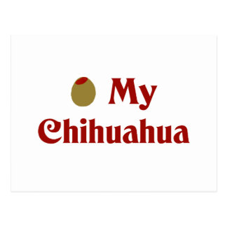 Olive (I Love) My Chihuahua Postcard