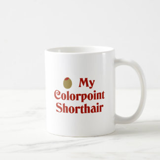 Olive (I Love) My Colorpoint Shorthair Coffee Mugs