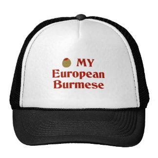 Olive (I Love) My European Burmese Trucker Hats
