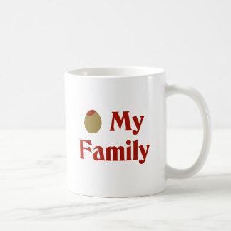 Olive (I Love) My Family Coffee Mug
