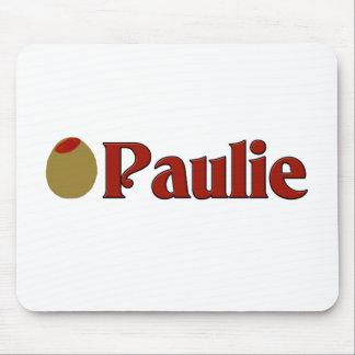 Olive (I Love) Paulie Mousepads
