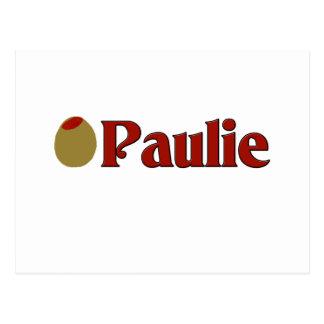 Olive (I Love) Paulie Postcard