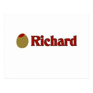 Olive (I Love) Richard Postcard