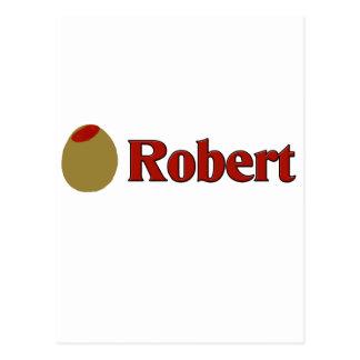 Olive (I Love) Robert Postcard