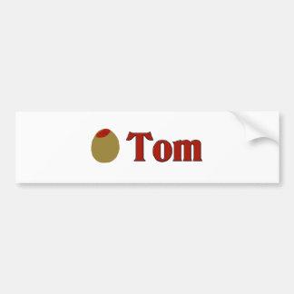 Olive (I Love) Tom Bumper Sticker