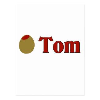 Olive (I Love) Tom Postcard