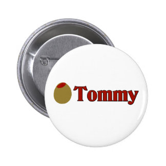 Olive (I Love) Tommy Pins