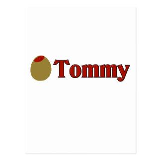 Olive (I Love) Tommy Postcard