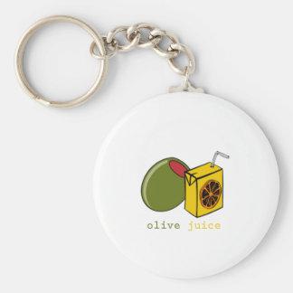 Olive Juice Key Chain