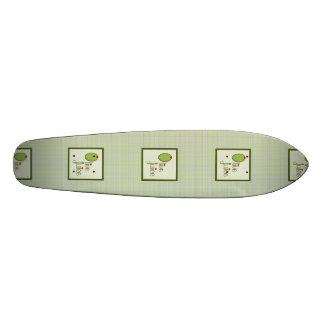 Olive Juice Skate Deck