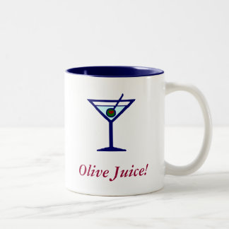 Olive Juice! Two-Tone Mug