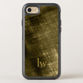 olive khaki black grungy tweed OtterBox symmetry iPhone 7 case