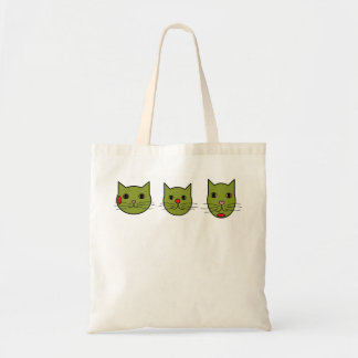 Olive Kitties Trusty Everything Tote Budget Tote Bag