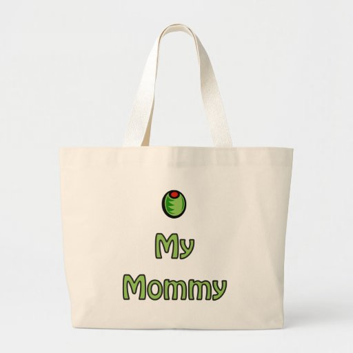 Olive My Mummy Canvas Bags