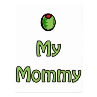 Olive My Mummy Postcard