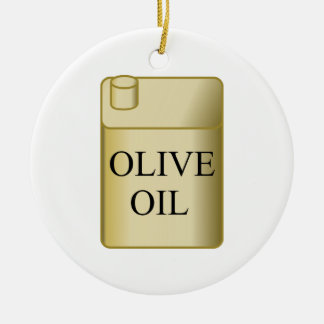 Olive Oil Christmas Ornament