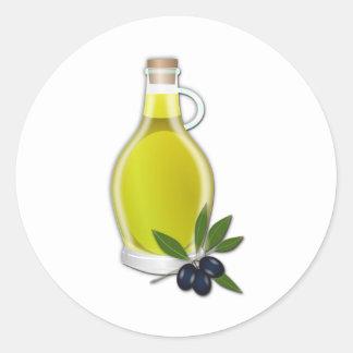 Olive Oil Classic Round Sticker