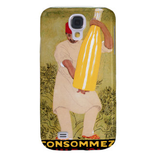 Olive Oil Vintage Food Ad Art Samsung Galaxy S4 Cases