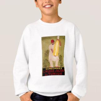 Olive Oil Vintage Food  Ad  Art Sweatshirt