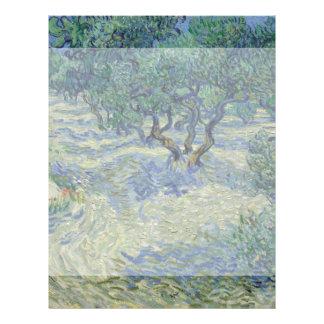 Olive Orchard by Vincent Van Gogh 21.5 Cm X 28 Cm Flyer