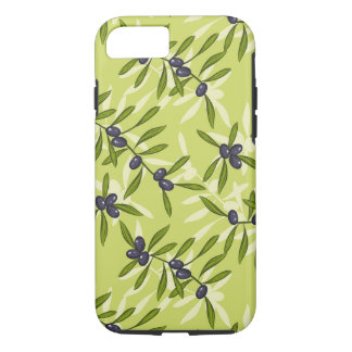 Olive Pattern iPhone 8/7 Case
