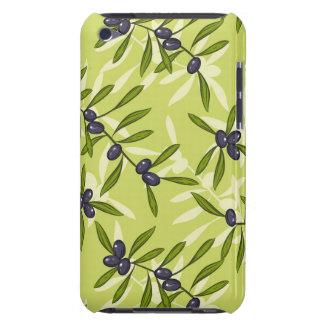 Olive Pattern iPod Case-Mate Case