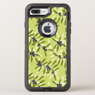 Olive Pattern OtterBox Defender iPhone 8 Plus/7 Plus Case