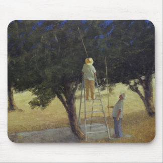 Olive Pickers 1985 Mouse Mat
