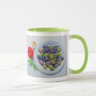 Olive Plate Mug