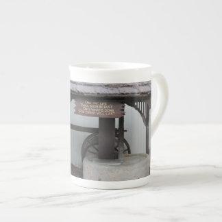 Olive Press at Ventura Mission Porcelain Mugs