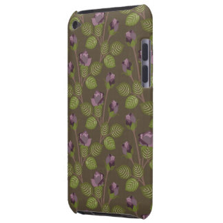Olive Pretty Purple Flowers Case iPod Touch iPod Touch Case-Mate Case