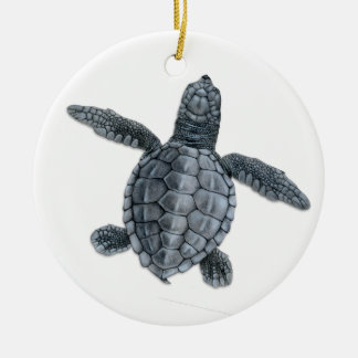 Olive Ridley Sea Turtle Hatchling Ornament