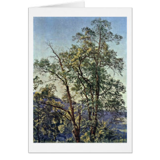 Olive Tree By Alexander Andreyevich Ivanov Greeting Card